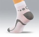 training & fitness socks with cut leg part