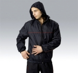 Omega hooded rain jacket